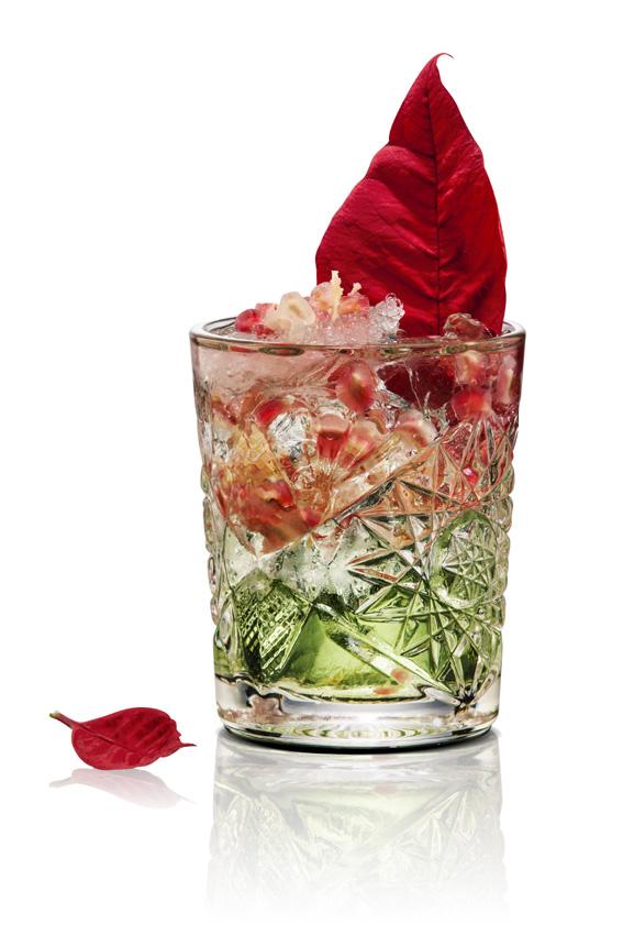 Aprende a preparar el cóctel de ginebra con el que triunfarás estas Navidades