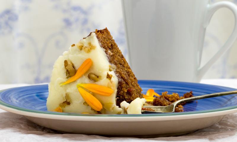 Revolución gustativa: brownie de chocolate blanco y zanahoria