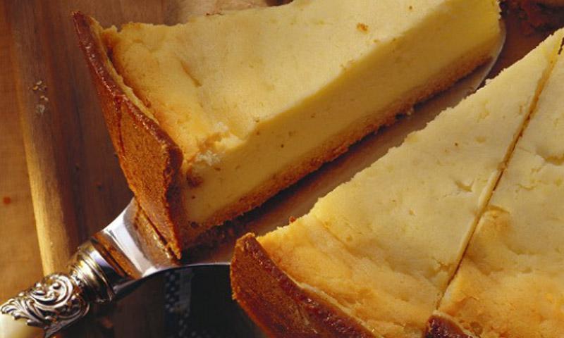 Postres primaverales: tarta fría de queso y limón