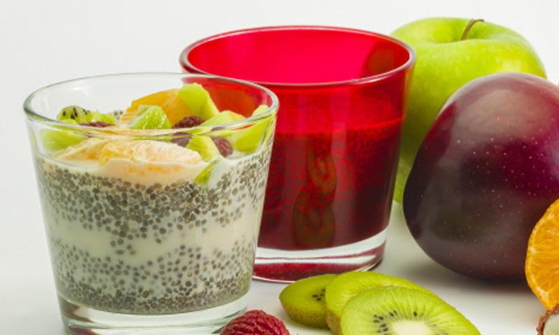 Cinco deliciosas bebidas a las que puedes añadir chía este verano