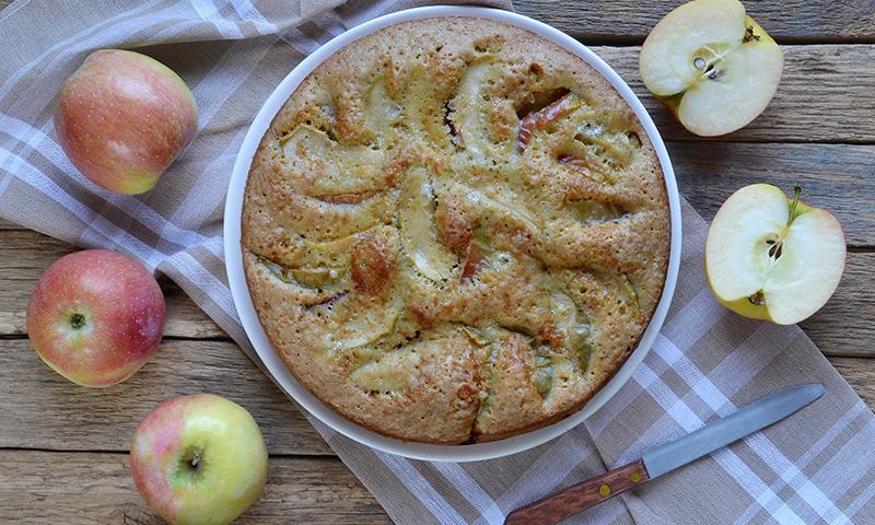 Receta de bizcocho de yogur manzana y canela for Bizcocho de manzana y canela