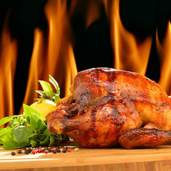 Regreso a la cocina tradicional! Pollo asado al horno de leña