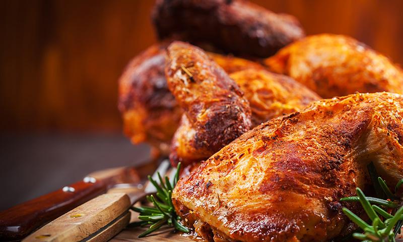Receta de muslos de pollo para dieta