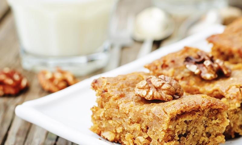 Repostería con legumbres: 'brownie' de garbanzos