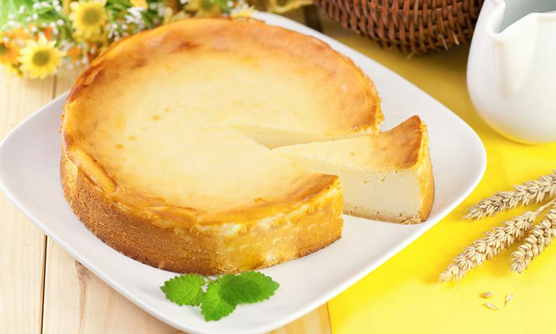 Tarta de queso con mermelada de melón, el 'guilty pleasure' de este verano