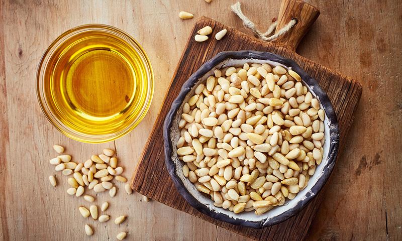 Una receta suculenta: Salmorejo cordobés de calabaza y piñones a la hierbabuena