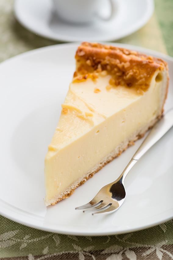 ¡Para los más golosos! Tarta de queso fría con leche condensada