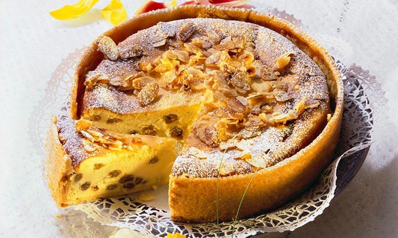 Tarta de queso con frutos secos, ¡sabor 100% asegurado!