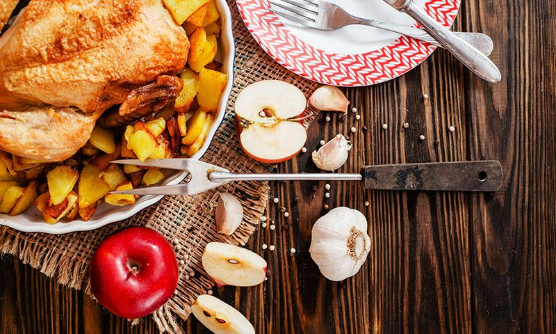 Pollo al horno con mostaza y ajo, ¡un sabor explosivo!