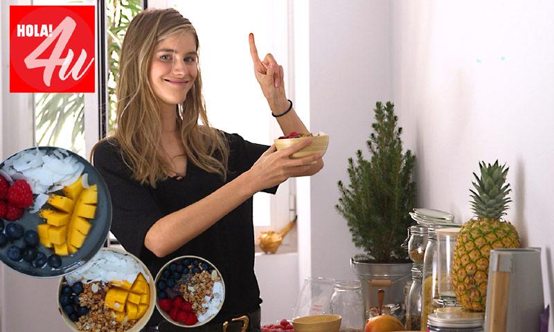 En HOLA!4u, bowls fáciles de frutas con Irina Isasia