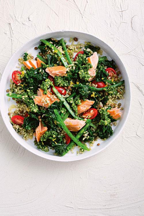 recetas de col rizada kale