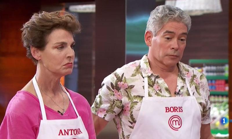 Boris Izaguirre y Antonia Dell'Atte enfadan con sus platos al jurado de 'MasterChef Celebrity'