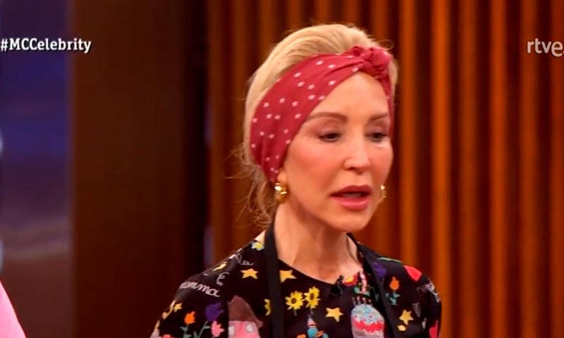 Carmen Lomana cuelga el delantal de MasterChef Celebrity en una noche 'de locos' para Boris Izaguirre