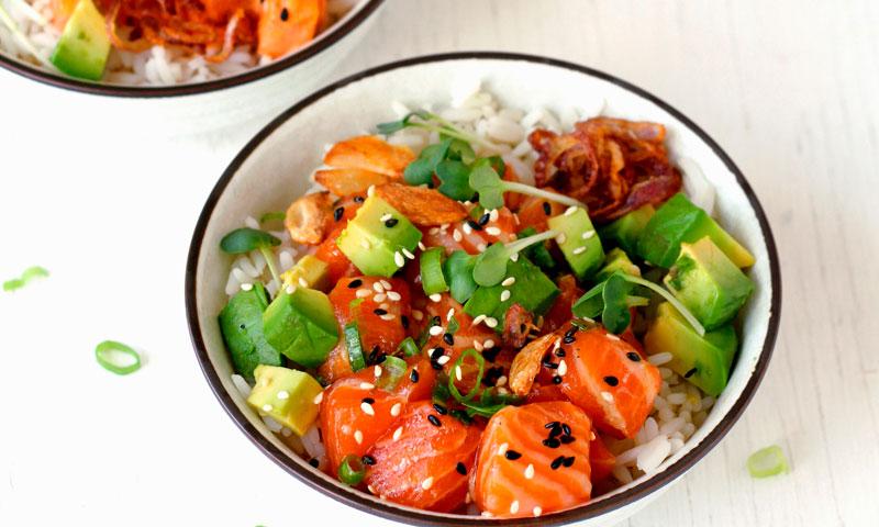 La última tendencia 'foodie': presentar las recetas en un 'bowl'