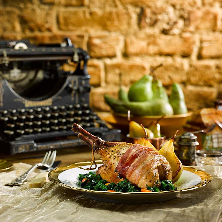 Sin ideas para tus menús de Navidad? ¡Atrévete con la perdiz!