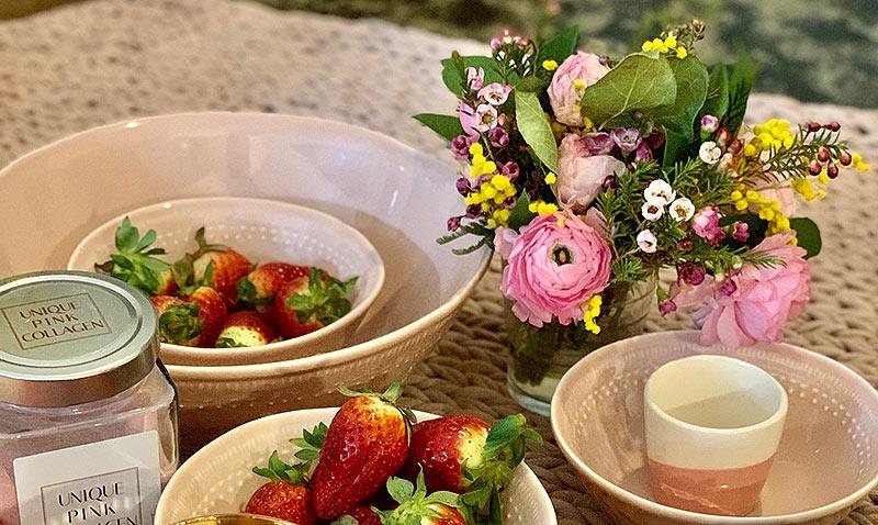 'El arte de decorar la mesa', por Fiona Ferrer: el poder del rosa