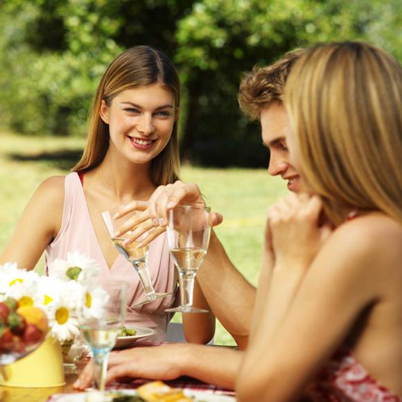 Cómo organizar una comida al aire libre