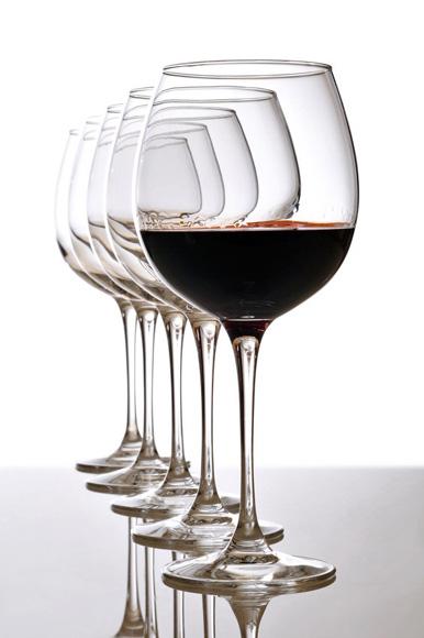Cuál es la copa más adecuada para cada tipo de vino?
