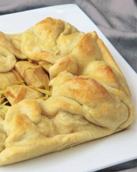 Repostería: tarta de manzana y limón, paso a paso