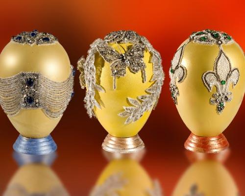 Huevos de Pascua 'Haute Couture'