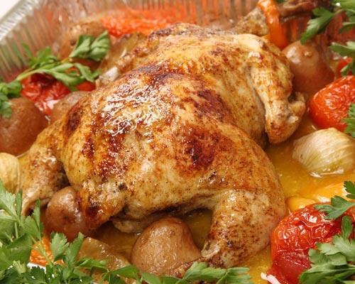 Cocina al horno diez trucos sencillos y pr cticos for Cocinar un pollo entero