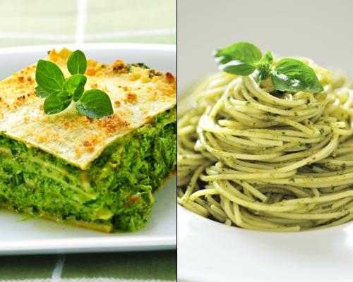 Cocina con pasta: ideas para la presentación de los platos