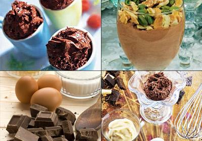 Seis maneras diferentes para disfrutar de una rica 'mousse' de chocolate