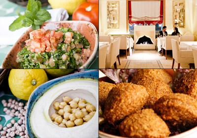 ¡Exquisita cocina libanesa!