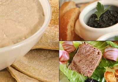 Hora del aperitivo: tostas de pan con un toque casero