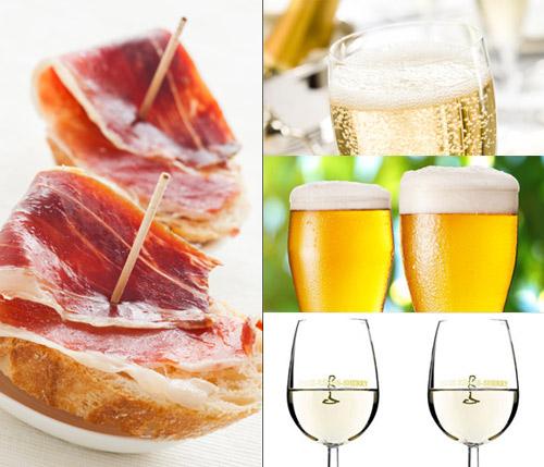Cava, vino, cerveza… ¿con quién hace mejor 'pareja culinaria' el jamón ibérico?