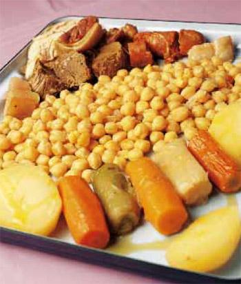 Cocina regional: cocido madrileño, en un abrir y cerrar de ojos