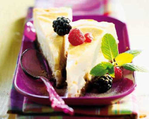 Repostería: tarta de queso y canela, en diez pasos