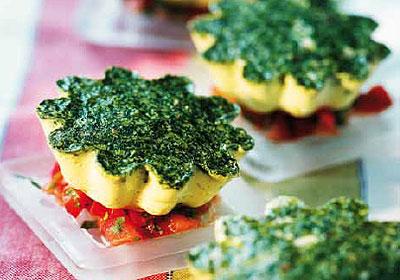 Recetas originales: hoy comemos flanes… ¡salados!