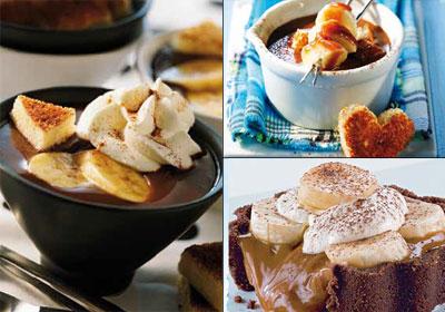 Parejas culinarias que funcionan: plátano y chocolate