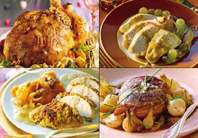 Pato, pavo, capón y pularda: cuatro 'clásicos' de Navidad, cuatro sabrosas recetas