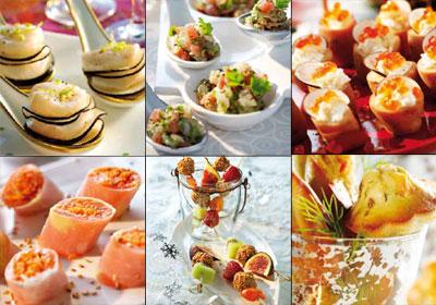 Recetas para  Fin de Año: canapés 'gourmet'… ¡simplemente irresistibles!
