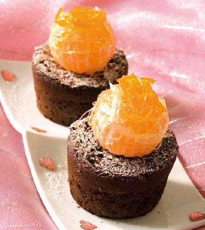 Chocolate + cítricos… ¡magnífico 'idilio culinario'!