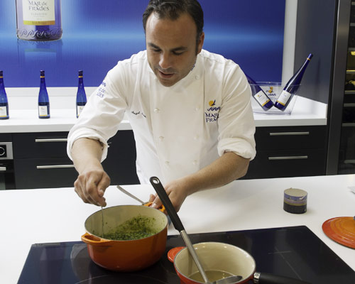 Grandes chefs: arroz con algas, por Ángel León