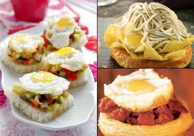 Cocina fácil: cuatro canapés muy sencillos, vistosos y… ¡riquísimos!