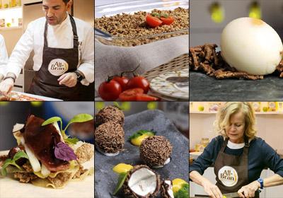 Clase de cocina con Paco Roncero e Inés Ortega: 'Los cereales… ¿sólo para el desayuno?'