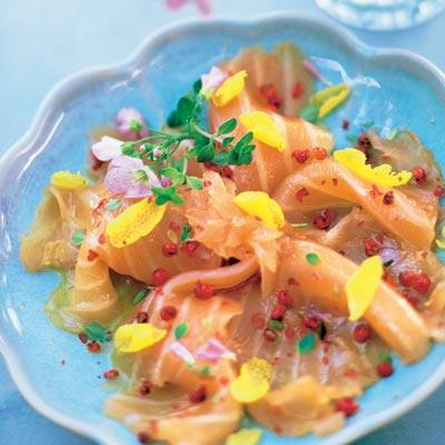 Cocina de verano: cuatro 'carpaccios' con sabor marinero