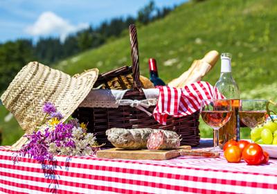 Excursión al aire libre: ¿qué meto en la cesta?