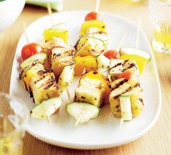 Cocina f cil brochetas para todos los gustos - Escuela de cocina vegetariana ...