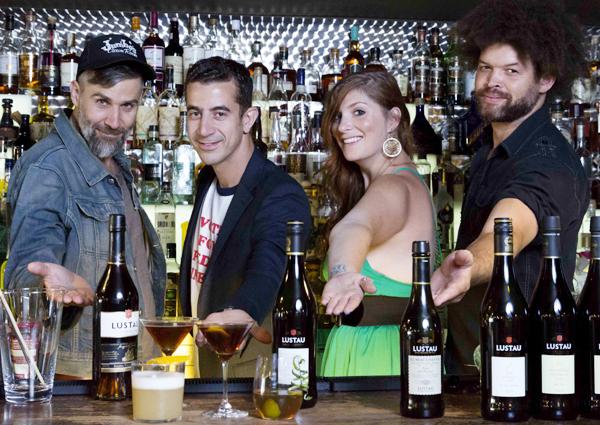 Taller de coctelería: los vinos de Jerez conquistan EEUU