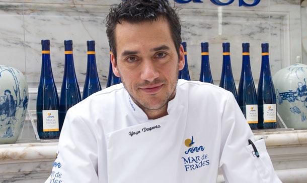 Grandes chefs: Yayo Daporta nos enseña a preparar un delicioso tartar de percebes