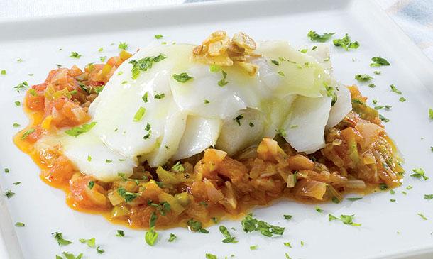20 hermoso recetas de cocina de bacalao fotos cocina de - Bacalao fresco con tomate ...