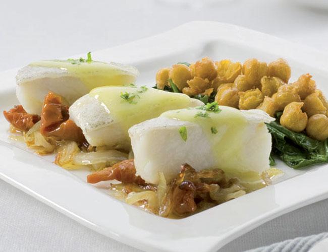 Cocina de semana santa bacalao verduras una pareja - Garbanzos espinacas bacalao ...