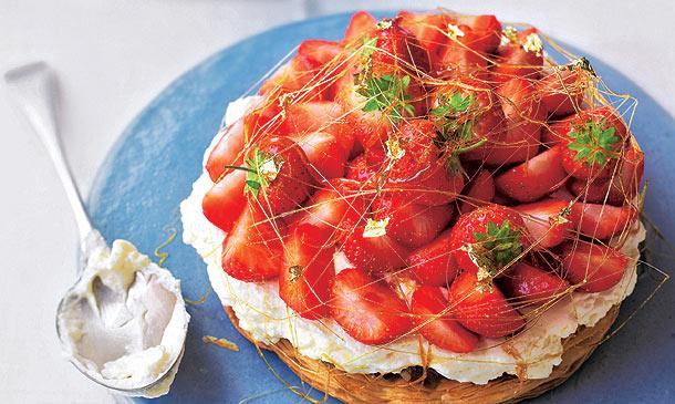 Muy dulce: ¡es tiempo de fresas!