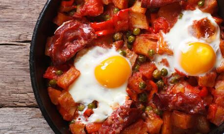Cocina Regional Huevos A La Flamenca Paso A Paso