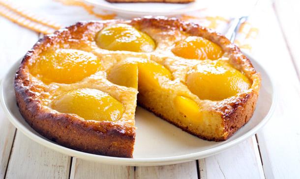 Repostería de temporada: dulce tarta de albaricoque